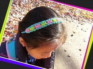 Starburst headband