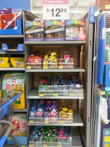 Loom bands found at Walmart. Next to the Book section.