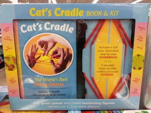 Cat's Cradle book & kit set found at five below