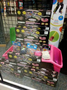 Loom Bands at Toy Tyme, Chesterfield Mall