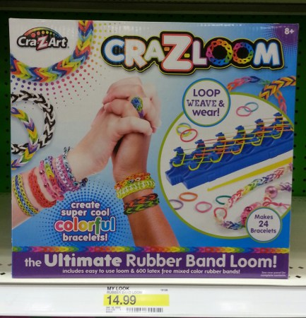 Cra-z-loom found at Target
