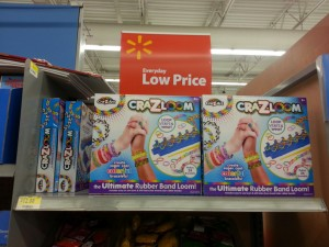 Cra-z-loom found selling at Walmart