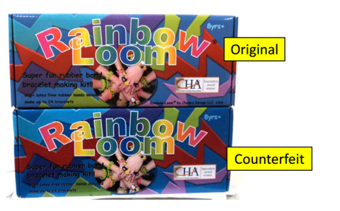 Rainbow Loom Official Alert! Counterfeit rainbow loom