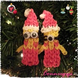 Connie Gigi's Santa Minion Bracelets