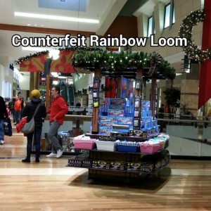 Counterfeit Rainbow Loom Found at West County Mall