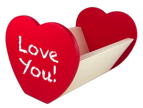 Love Note Holder Saturday, February 08 (10:00 AM)